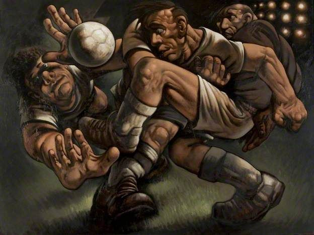 The Glorious Game - Peter Howson 1997