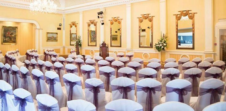 The ceremony room