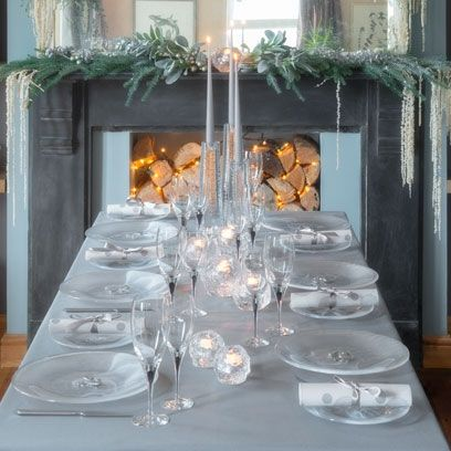 Decorated Tables 22 best christmas decorations for dining tables images on