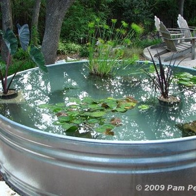 metal tub