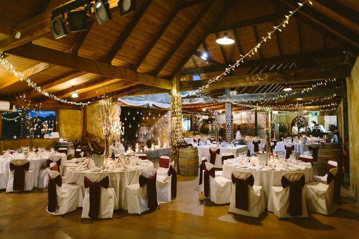 Peppers Creek Barrel Room. Hunter Valley wedding photography. Image: Cavanagh Photography http://cavanaghphotography.com.au