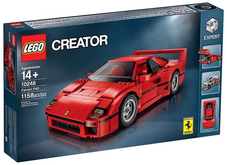 Comparez les prix du LEGO Creator 10248 La Ferrari F40 avant de l'acheter ! Infos, description, images, vidéos et notices du LEGO 10248 La Ferrari F40 sur Avenue de la brique