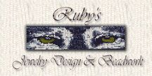 BEADING WITH RUBY  ~ A beginner's guide to creating beautiful beaded  jewelry ~