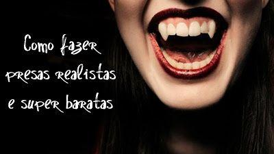 #Fangs #vampire #DIY