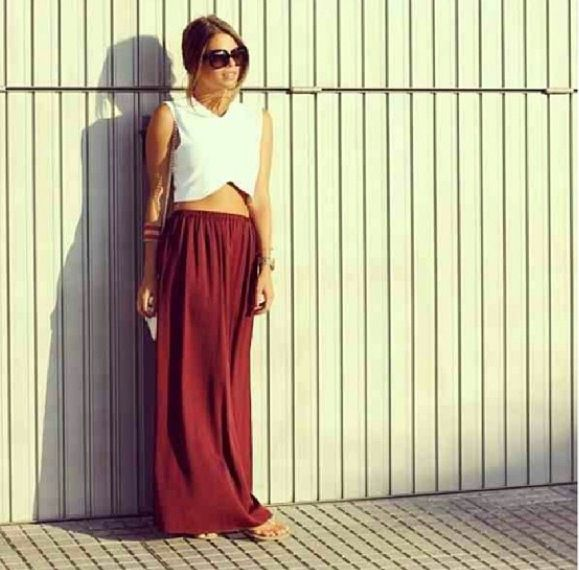 46 best images about Maxi skirt on Pinterest | Maxi skirts, Skirts ...
