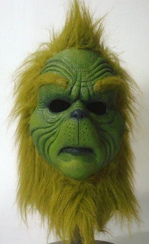 Mascara De Latex De El Grinch. $750