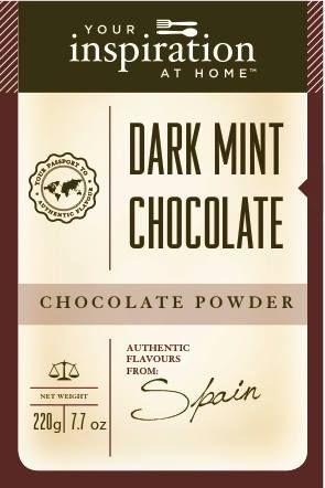 Dark Mint Chocolate Chocolate Powder #yiah #chocolate