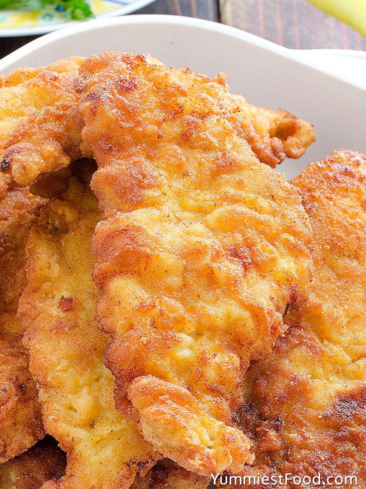Fried Chicken Breast - Served