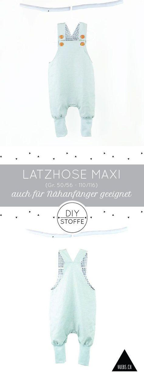 Latzhose Maxi – Anleitung & Schnittmuster