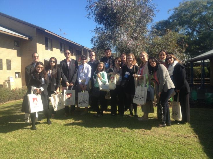 LAE Espana visitors at Murdoch University