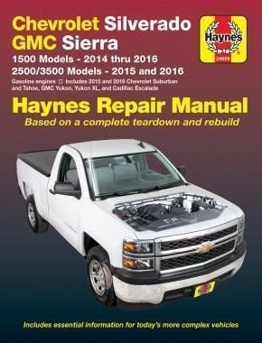 Chevrolet Silverado & GMC 1500 Pick-ups (14-16) & 2500/3500 Pick-ups (15-16) including 2015 & 2016 Suburban, Tahoe, GMC Yukon/Yukon XL & Cad