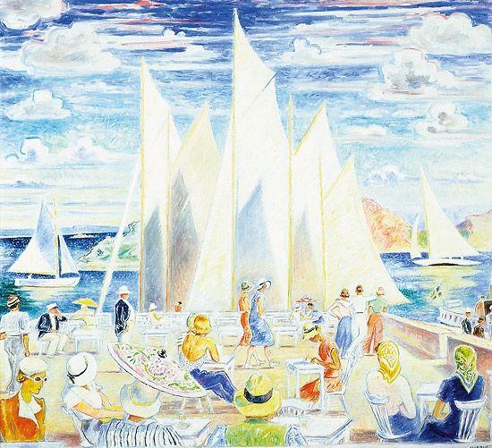 Arne Kavli (1878 – 1970): Sommerdag i Fiskebäckskil