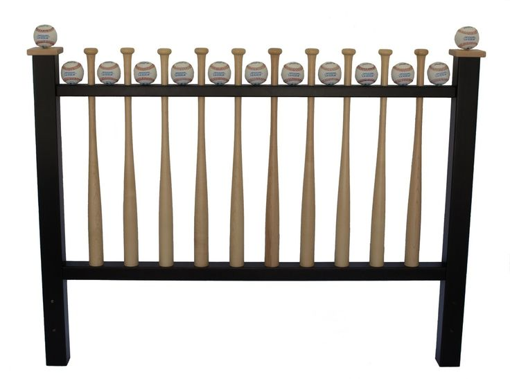 Grand Slam Big League Full Sized Baseball Bed Headboard Complete Your Sports Themed