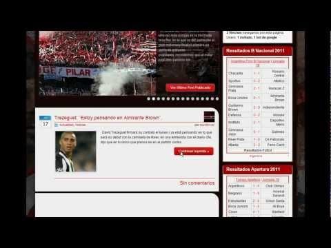 Demostración Video Página para Publicar Noticias Autoadministrable