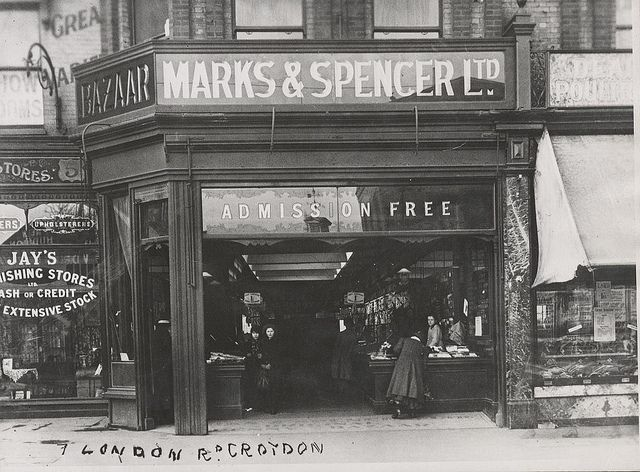 Marks & Spencer Ltd., London Road, Croydon, 1910.