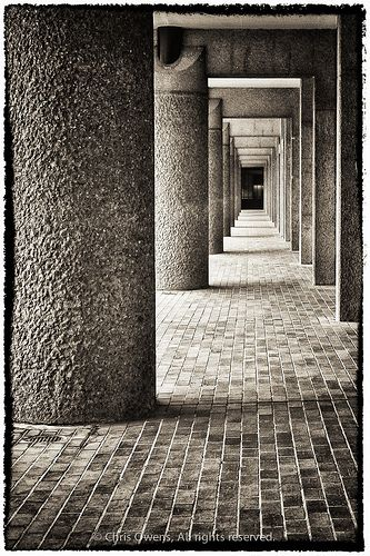 Walkway at London Barbican