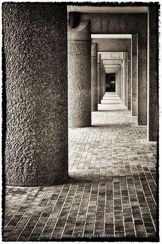 Walkway at London Barbican