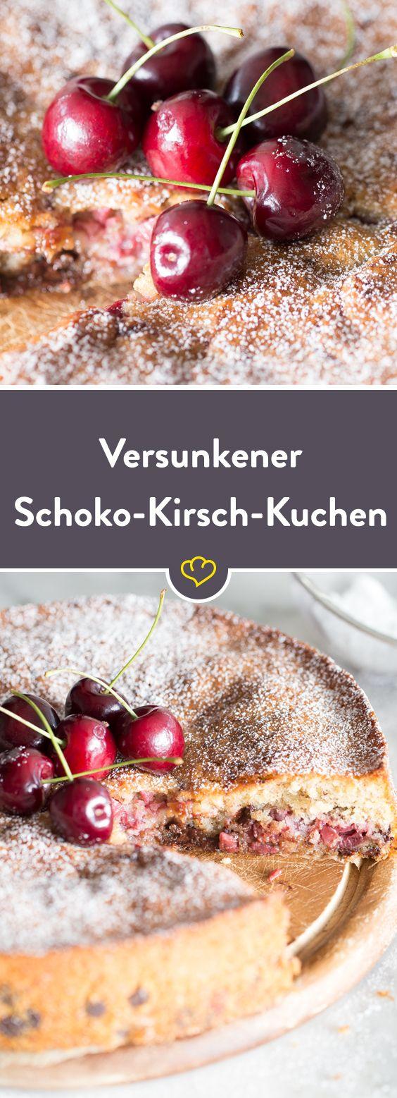 Der Saftigste aller Kirschkuchen ist dieser Schoko-Kirsch-Kuchen. Das Beste: In 15 Minuten zusammengerührt und in 40 Minuten gebacken.
