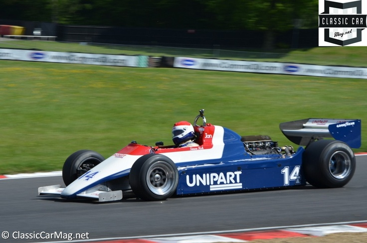 1980 Ensign N180 driven by Simon Fish