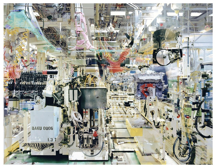 the factory of Toyota