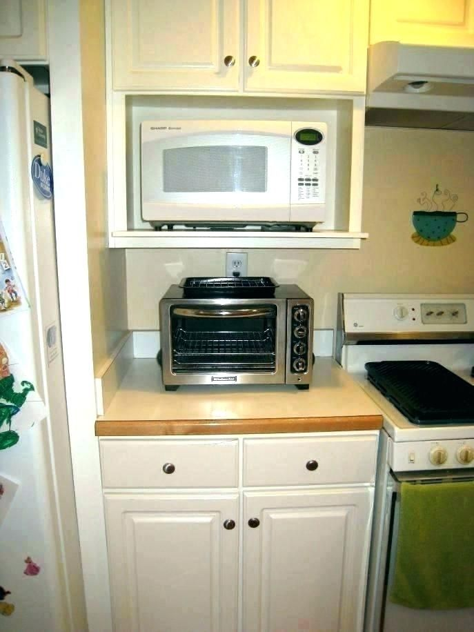 Microwave Mounting Kit Google Search Microwave Shelf Microwave In Kitchen Built In Microwave Cabinet