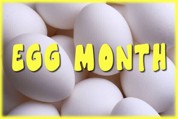 January is Egg Month (Yes, there's more than one.)