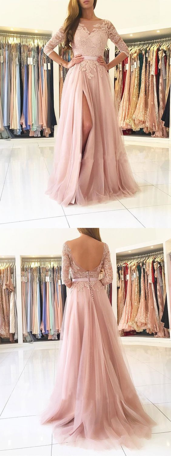 O-Neck Appliques A-Line Prom Dresses,Long Prom Dresses,Cheap Prom Dresses, Evening Dress Prom Gowns, Formal Women Dress,Prom Dress