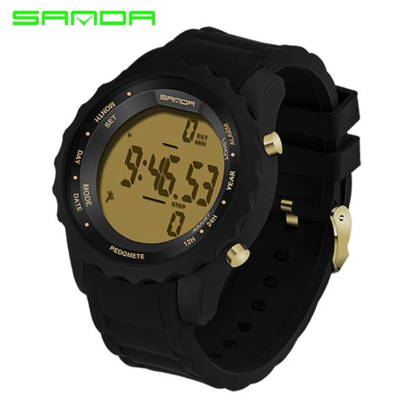 Promotion price SANDA Fashion Men Sports Watches Waterproof Outdoor Fun Digital Watch Swimming Diving Wristwatch Reloj Hombre Montre Homme  just only $11.99 with free shipping worldwide  #menwatches Plese click on picture to see our special price for you