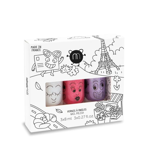 Pack 3 Esmaltes de uñas City Nailmatic