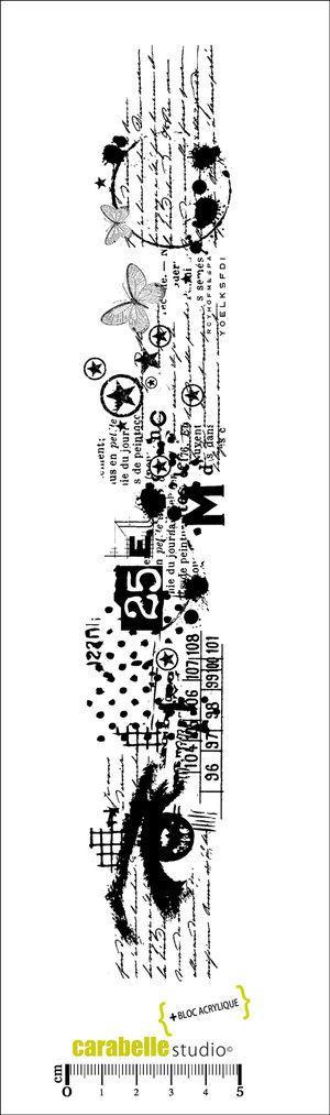 Tampon Edge : Un regard sur mon histoire - CARABELLE STUDIO