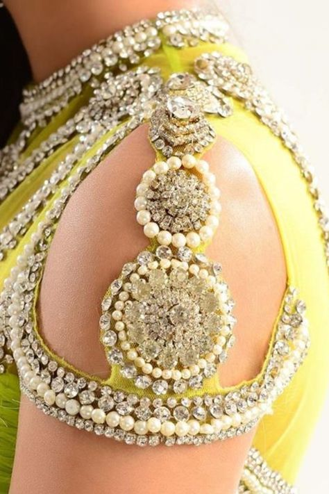 Sleeve designs are beautiful and add gorgeous detail to make any blouse even more beautiful. #Indianwedding, #ShaadiShop