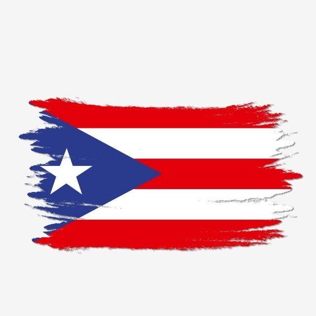 Cepillo De Pintura De Acuarela Transparente De Bandera De Puerto Rico Puetro Rico Bandera De Puetro Rico Vector De Bandera De Puetro Rico Png Y Psd Para Desc Bandera De Puerto