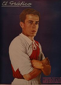 Segundo Castillo Varela (born July 17, 1913 in Callao, Peru - died October 1, 1993 in Callao, Peru) was a former Peruvian footballer who played for Peru, Chile, Argentina and Colombia and the Peru national football team.