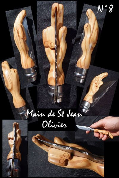 Opinel ножи резные Игоря CHARON - руки