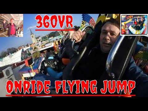 Onride 360VR Flying Jump (A. Hendrickx) Palemenmarkt (Kermis) Geel 2018