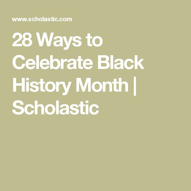 17 Best ideas about African American History Month on Pinterest ...