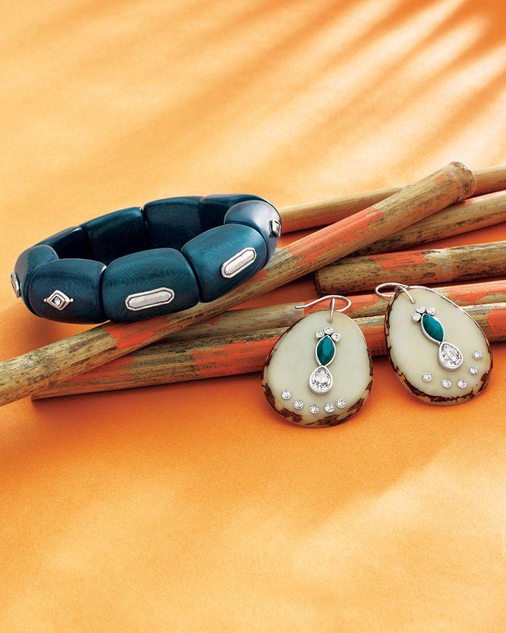Polished Palms Earrings | Jewelry by Silpada Designs. Order today at www.mysilpada.com/allison.ochoa