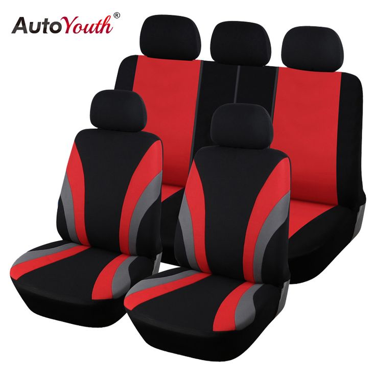 AUTOYOUTH Classic Car Seat Covers Universal Fit Most SUV Truck Car Covers Car Seat Protector Car Styling 3 Color Seat Cover
