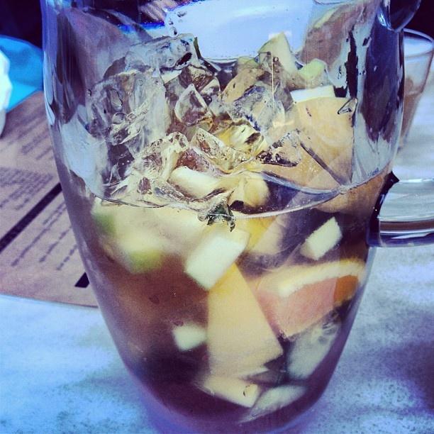 Pimms & Lemonade - yum!
