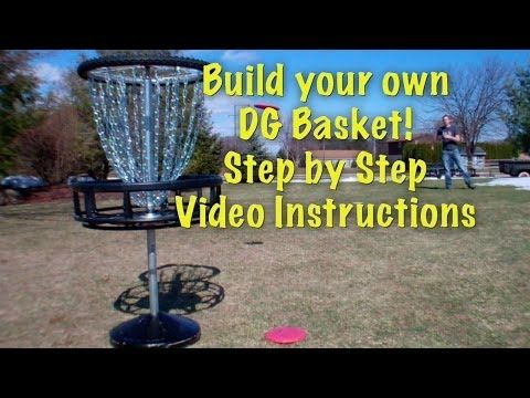 How to Build a Disc Golf Basket Step by Step Video Instructions - YouTube