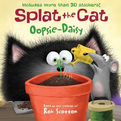 Join Splat the Cat in New York Times bestselling author-artist Rob Scotton's hilarious springtime adventure! Splat and Seymour plant a seed and watch it grow in this edition of the Splat the Cat picture book series. Fans of Splat will delight as they learn all about gardening. Complete with a sheet of fun stickers.