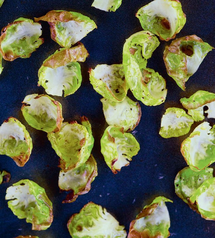 Sprout crisps recipe from A Year at Otter Farm by Mark Diacono   Cooked.com