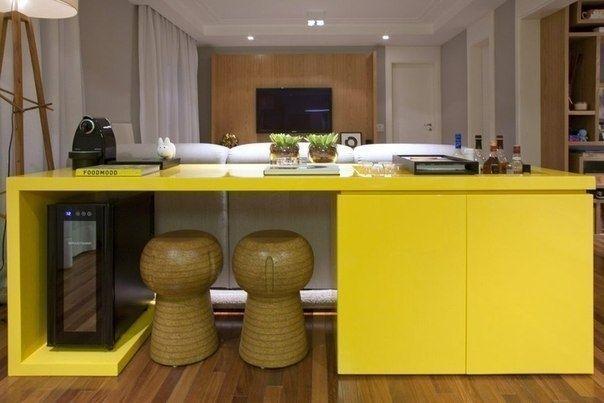 Интерьер квартиры в Сан-Паулу, Бразилия - Дизайн интерьеров | Идеи вашего дома | Lodgers