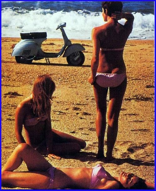 honey-rider:    Vespa 1968.  I guess scooters are all right...