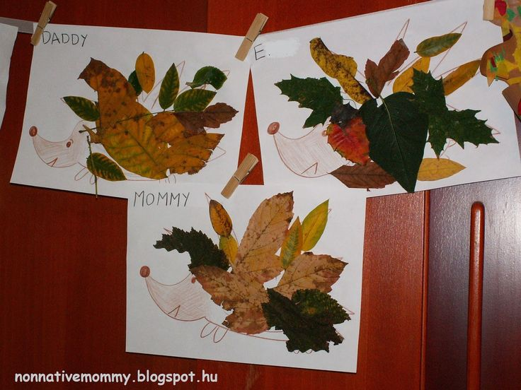 Non-native Mommy: Autumn leaves are falling down