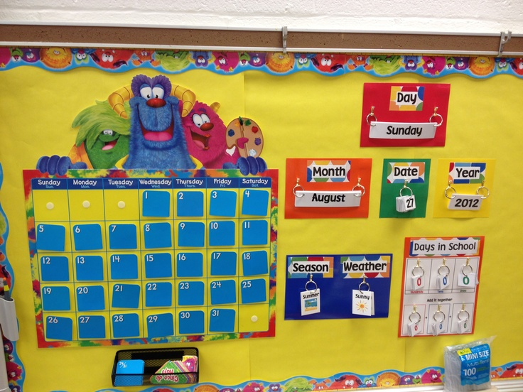Classroom Calendar Bulletin Board Ideas : Best calendar bulletin boards images on pinterest