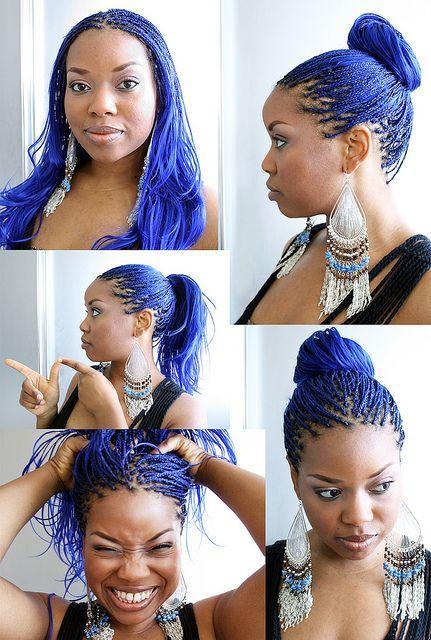 BLUE BRAIDS: