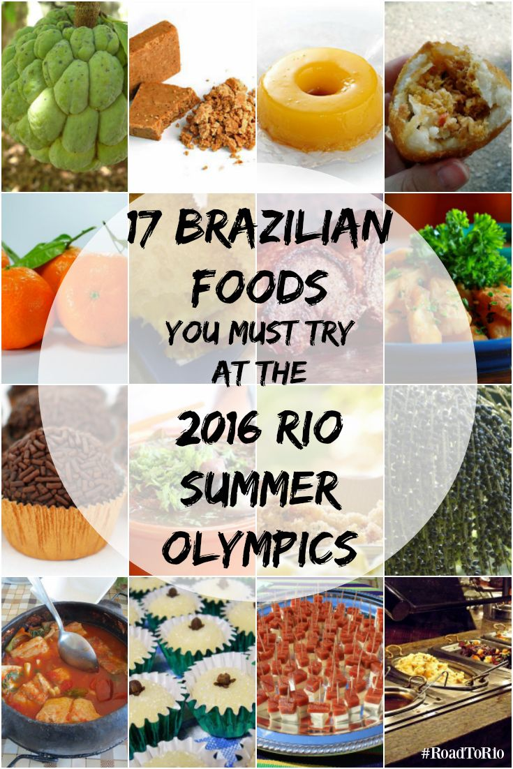 Are you planning a trip to Rio de Janeiro to attend the 2016 Summer Olympics, or just curious about the local cuisine? If so, you'll want to check out our definitive list of Brazilian foods compiled with the help of the 2016 Olympic Committee.