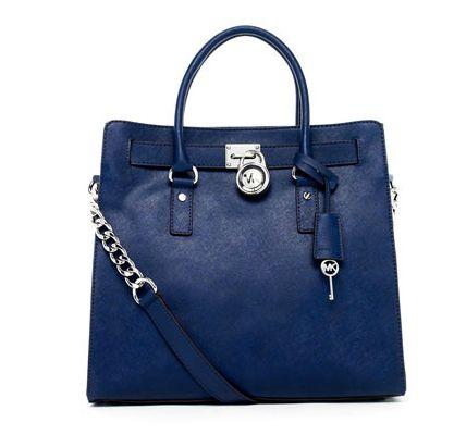 Royal Blue Micheal Kors Handbag - panting.