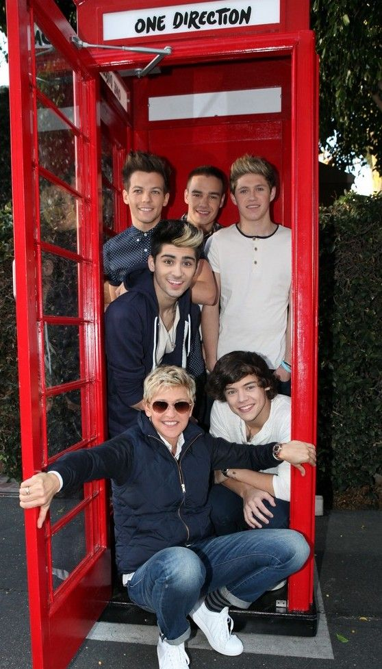 ellen with one direction